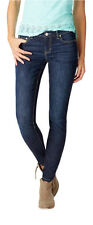 aeropostale womens skinny core dark wash jean
