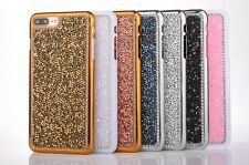 Newest Twinkle Bling Crystal hard Plastic case for iphone 7 7P Samsung S8 S8Plus