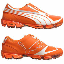 PUMA MENS AMP CELL FUSION SL GOLF SHOES - NEW WATERPROOF LEATHER TOUR COBRA