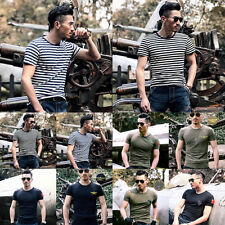 1X Men's Tactical Military Short Sleeve Army Camouflage Training Sports T-Shirt