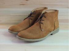 Mens suede oxford high top lace up high top desert chukka dress shoes New YT @@
