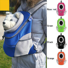 New Pet Backpack Carrier Dog Bags Carrier Puppy Dog Portable Travel Bag HeadOut