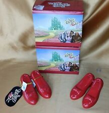 Wizard of Oz Movie Ruby Slippers Magnetic Salt & Pepper Shakers New In Box