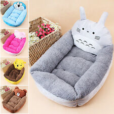 Pet Dog Bed House Pet Nest Cartoon cat Kennel Mat Party Flannel Free shipping