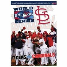 World Series 2006 Detroit Tigers vs St. Louis Cardinals DVD new MLB Cards Champs