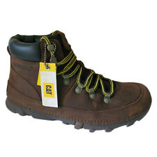 Caterpillar Brockton Boots Boots Men's Brown Leather Cat Shoes NEW
