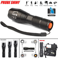 New 5000LM Zoomable CREE XM-L T6 LED waterproof 18650 Flashlight Torch Lamp