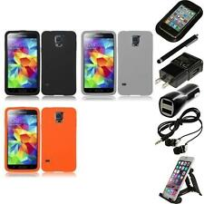 For Samsung Galaxy S5 Silicone Skin Soft Rubber Case Phone Cover Accessories