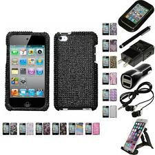 For Apple iPod Touch 4th Gen Diamond Diamante Bling Rhinestone Case Accessories