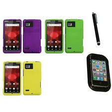 For Motorola Droid Bionic XT875 Snap-On Hard Case Skin Accessory Mount+Pen