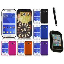 For Samsung Galaxy Ace Style S765C Rubberized Matte Snap-On Hard Case Mount+Pen