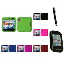 For Motorola Flipout MB511 Snap-On Hard Case Phone Cover Accessory Mount+Pen