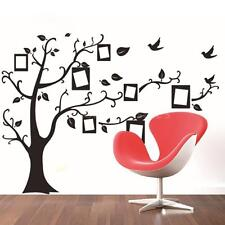 Removable Photo Frame Memory Tree Decal Adhesive Mural Wall Sticker Decor G1U0