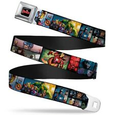Avengers Marvel Comics Superheroes Comic Collage Seatbelt Belt