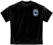Police Department PD Honor Our Fallen Officers Adult T-Shirt Tee