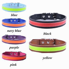 New Design Standard Dog Collar Pu Leather Collars For Small Dogs Pet Supplies