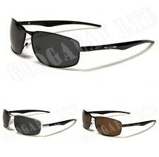 New Mens Womens Polarized Sunglasses XLOOP Designer Aviator Black UV400 484