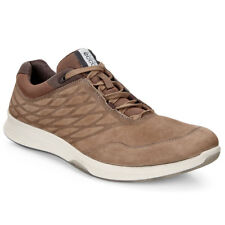 Ecco 2017 Mens Exceed Sporty Sneakers Yak Nubuck Leather Training Shoes