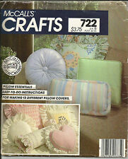 PILLOWS & MORE  Home Decorating Patterns - You Choose Simplicity / Vogue McCalls