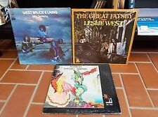 mountain lp lot leslie west lp lot of 3 record albums