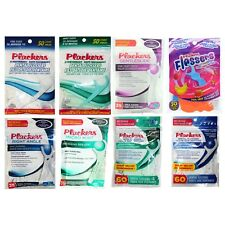 PLACKERS (1) Bag DENTAL FLOSSERS+PICKS Removes Plaque ORAL CARE Teeth YOU CHOOSE