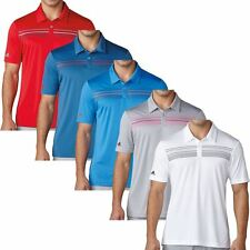 Adidas Golf 2017 Climacool® Chest Print Polo Mens Performance Golf Polo Shirt