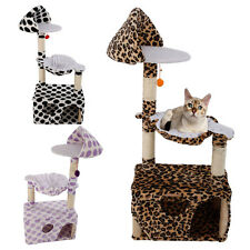 "New 47"" Cat Tree Tower Condo Furniture Scratching Post Pet Kitty Play House"