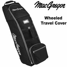 50% OFF** MACGREGOR DELUXE PADDED GOLF BAG FLIGHT COVER TRAVEL COVER -WHEELED