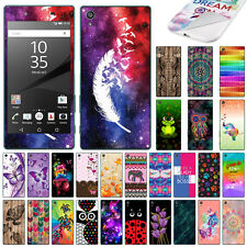"""For Sony Xperia Z5 5.2"""" Pattern Vinyl Skin Decal Sticker Cover Protector"""