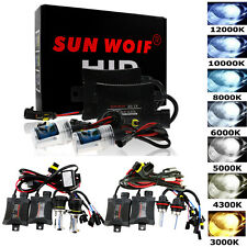 HID Conversion KIT Xenon Hi/Lo Bulbs Headlight H1 H4 H7 H8 9005/6 880/881 9004/7