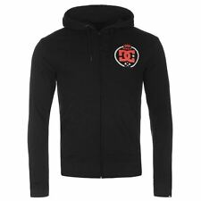 DC Shoes USA Sledge Full Zip Hoody Mens Black Hoodie Sweatshirt Jacket