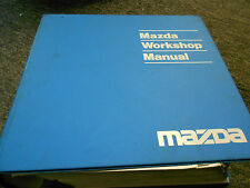 1993 Mazda 323 Protege Service Repair Workshop Shop Manual  FACTORY OEM