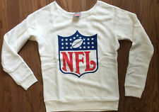 New Authentic Womens Junk Food Clothing NFL Logo Fleece Pullover