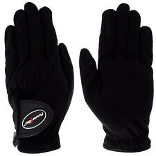 Powerbilt Mens Stormy Weather Medium Rain Golf Gloves High Grip All Weather Pair