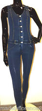 FREDDY WR.UP DUNGAREES JEANS PUSH UP Size S Ml SHAPING EFFECT SUIT MODELING
