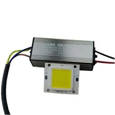 50W Cool / Warm White High Power LED Chip Light + Constant Current Driver DIY CN