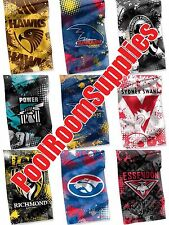 CHOOSE YOUR Licensed AFL TEAM Cape Flag Banner Man Cave Snooker Pool cue Room