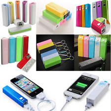 For Mobile Phone 2600mAh Portable USB External Backup Battery Charger Power Bank