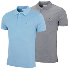 Lacoste 2017 Mens Short Sleeved Ribbed Collar Slim Fit Polo Shirt