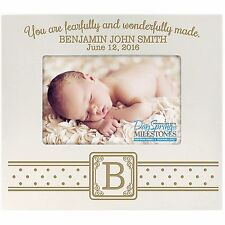 Personalized 4x6 Baby Picture Frame Engraved Gift