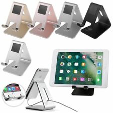 Universal Aluminum Metal Phone Stand Holder Mount For iphone Samsung Tablet Desk
