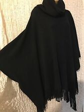 ��Womens W Collection  Poncho Cape Wrap JumperTop  Thick Knits Everyday ��