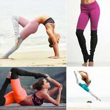 Womens Ladies Running Yoga Fitness Leggings Gym Workout Sports Pants Trousers