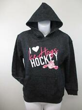 New Rockford Ice Hogs Youth Girls Sizes S-M-L-XL (8-10/12-14/16-18) Black Hoodie