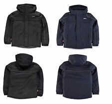 BOYS SLAZENGER PADDED QUILTED SCHOOL JACKET COAT AGE 7 8 9 10 11 12 13 RRP £60