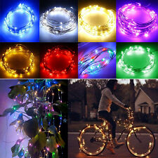 5m 50 LEDs Silver Wire String Fairy Party Wedding Light Controller + Adapter EU