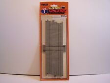 "Vintage "" TYCO "" HO US 1 Electric Trucking RR Crossing Track, New in Package."