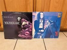 Dead or alive lp lot of 2 record albums