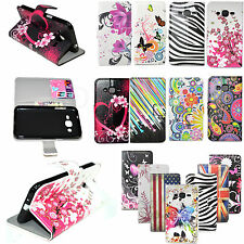 PU Leather Flip ID Card Wallet Case Cover For Samsung Galaxy J5 J3 J2 Sony M5 M4