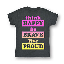 Happy Brave Proud - Youth YOUTH SHORT SLEEVE TEE